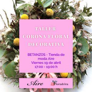 Taller flora coronas decorativas