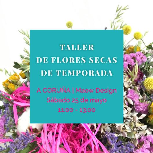 Taller floral en coruña