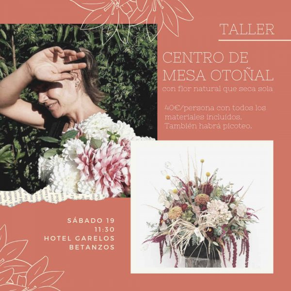 Taller-floral-betanzos-coruna-Centro-mesa-flor-natural