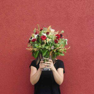 Ramo de otoño (flores frescas)