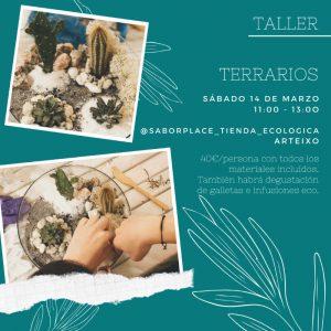 TALLER DE TERRARIOS