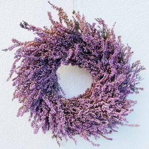 Corona decorativa de Brezo