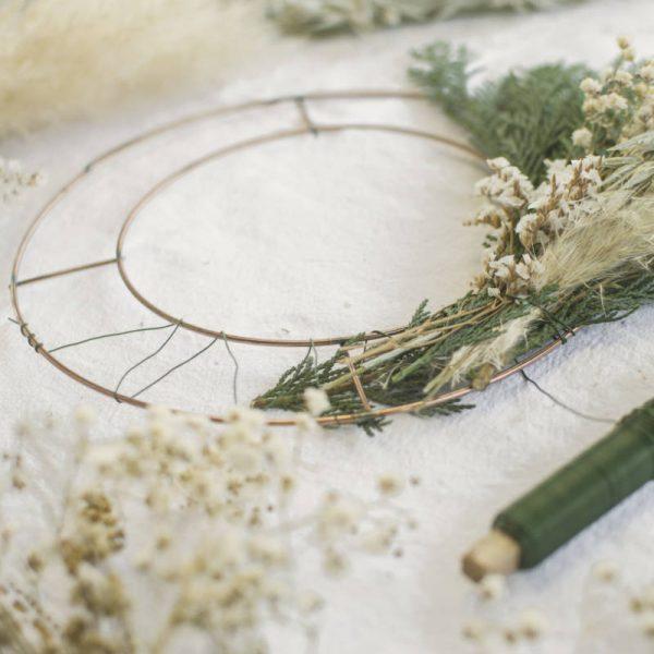corona-alambre-florista