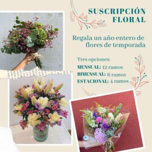 Suscripción floral