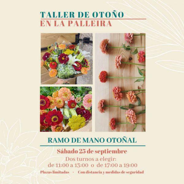 taller floral en palleira floradeira